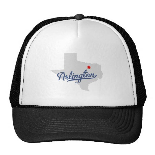 Arlington Texas TX Shirt Hat