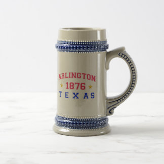 Arlington, TX - 1876 18 Oz Beer Stein