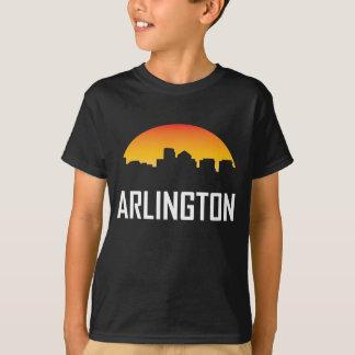 Arlington Virginia Sunset Skyline T-Shirt