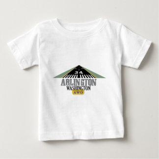 Arlington Washington - Airport Runway Baby T-Shirt