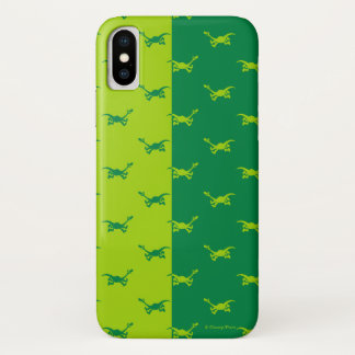 Arlo Half Color Running iPhone X Case