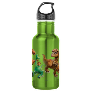 Arlo, Spot, and Ranchers In Field 532 Ml Water Bottle