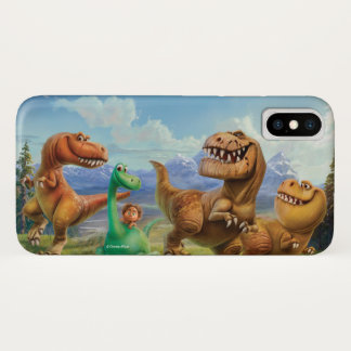 Arlo, Spot, and Ranchers In Field iPhone X Case