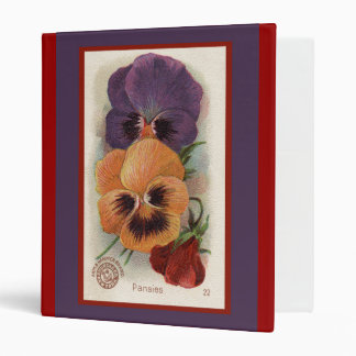 Arm and Hammer Pansies Ad 3 Ring Binder