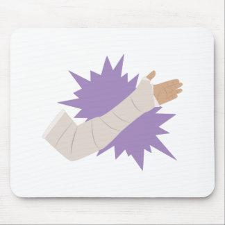 Arm Cast Mouse Pad