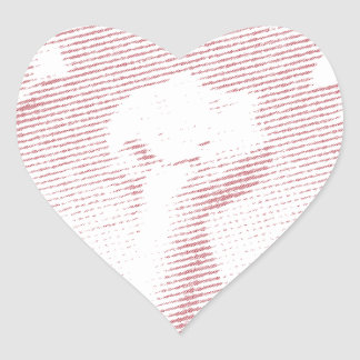 arm wrestling arm force heart sticker