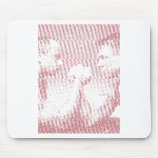 arm wrestling arm force mouse pad