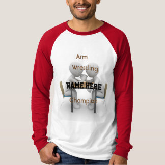Arm Wrestling Champion Tee