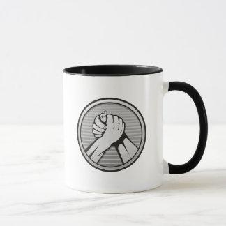 Arm wrestling Silver Mug