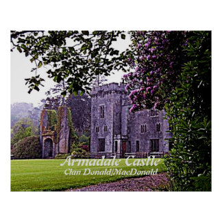 Armadale Castle – Clan Donald/MacDonald Poster