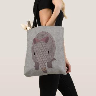 Armadillo Allover Tote Bag