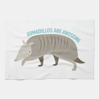 Armadillo_Armadillos_Are_Awe Kitchen Towel