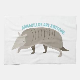 Armadillo_Armadillos_Are_Awe Kitchen Towel