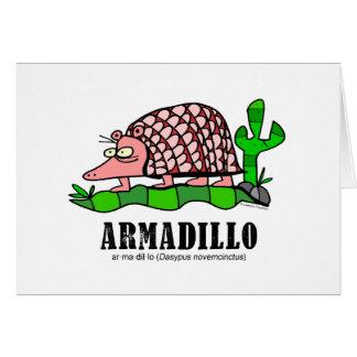 Armadillo by Lorenzo Card