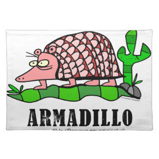 Armadillo by Lorenzo Placemat