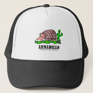 Armadillo by Lorenzo Trucker Hat