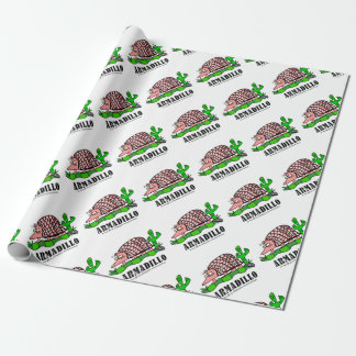 Armadillo by Lorenzo Wrapping Paper