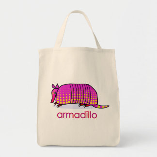 armadillo canvas bag
