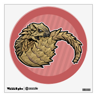 Armadillo Girdled Lizard Wall Sticker
