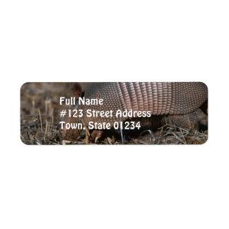 Armadillo Habitat  Mailing Labels