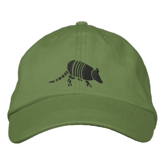 Armadillo Hat Embroidered Hats