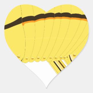 Armadillo Heart Sticker