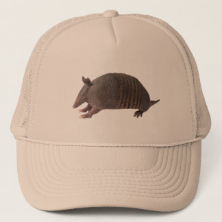 Armadillo plain trucker hat