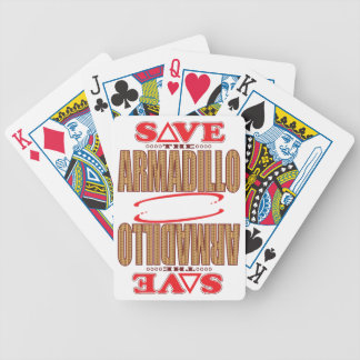 Armadillo Save Bicycle Playing Cards
