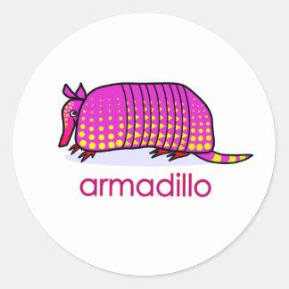 armadillo sticker
