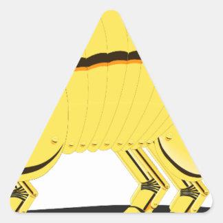 Armadillo Triangle Sticker