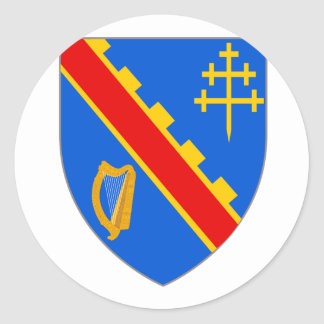 Armagh arms, Ireland Classic Round Sticker