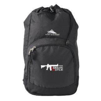 Armalite Rifle, Custom High Sierra Backpack, Black