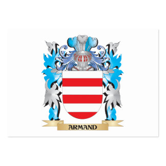 Armand Coat Of Arms Business Card