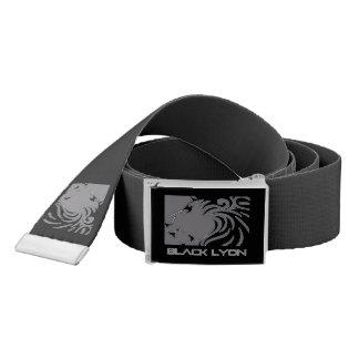 armani black Lyons belt