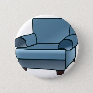 Armchair 2 Inch Round Button