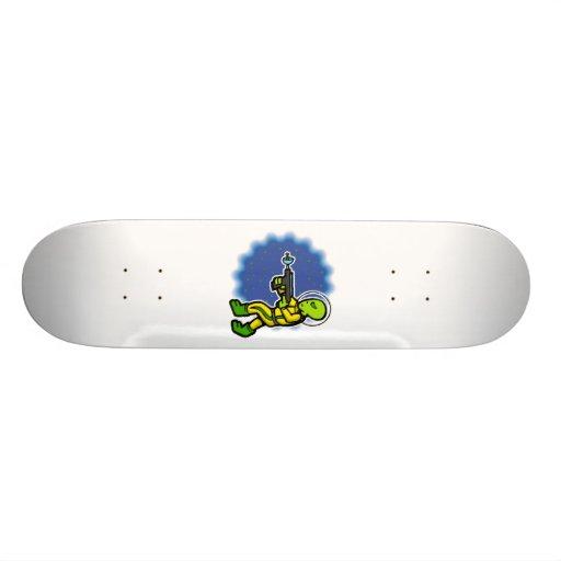 Armed Alien Skateboard Decks