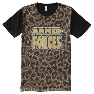 Armed Forces Military Panel T-Shirt