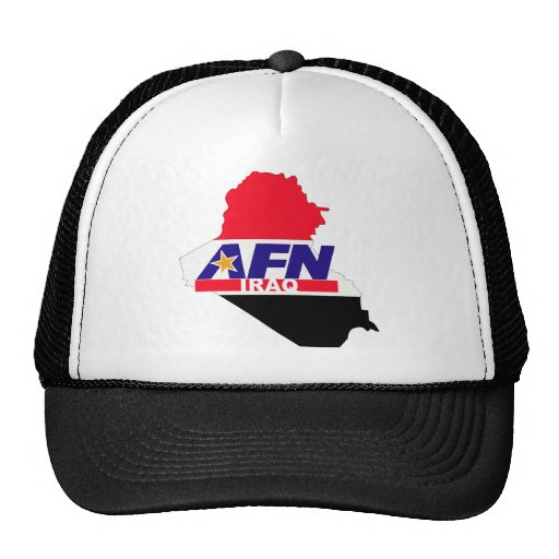 Armed Forces Network Iraq Trucker Hat