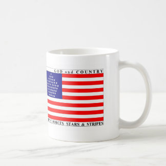 Armed Forces Stars & Stripes Flag  Mug