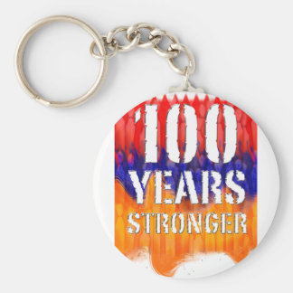 Armenia 100 Years Stronger Anniversary Keychain