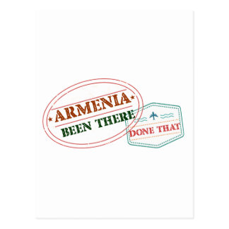 Armenia Been There Done That Postcard