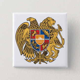 Armenia Coat of Arms Button