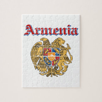 Armenia coat of arms designs jigsaw puzzle