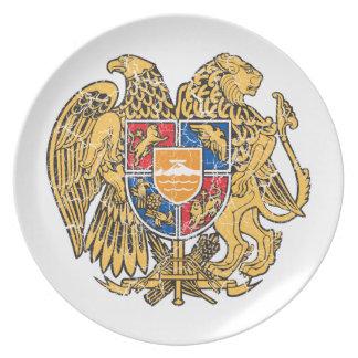 Armenia Coat Of Arms Dinner Plates