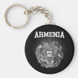Armenia Coat of Arms Keychain