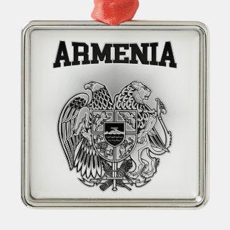 Armenia Coat of Arms Metal Ornament