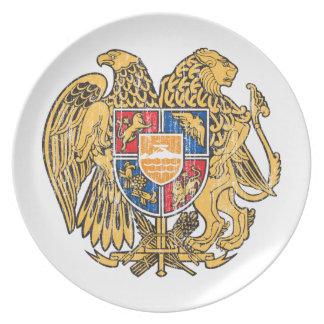 Armenia Coat Of Arms Plate