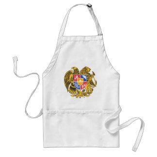 armenia emblem standard apron