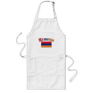 Armenia Flag 3 Color Long Apron