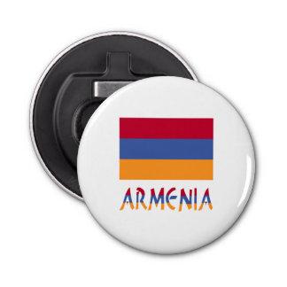 Armenia Flag and Word Bottle Opener